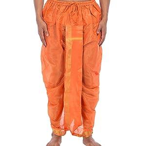 Orange Dhoti