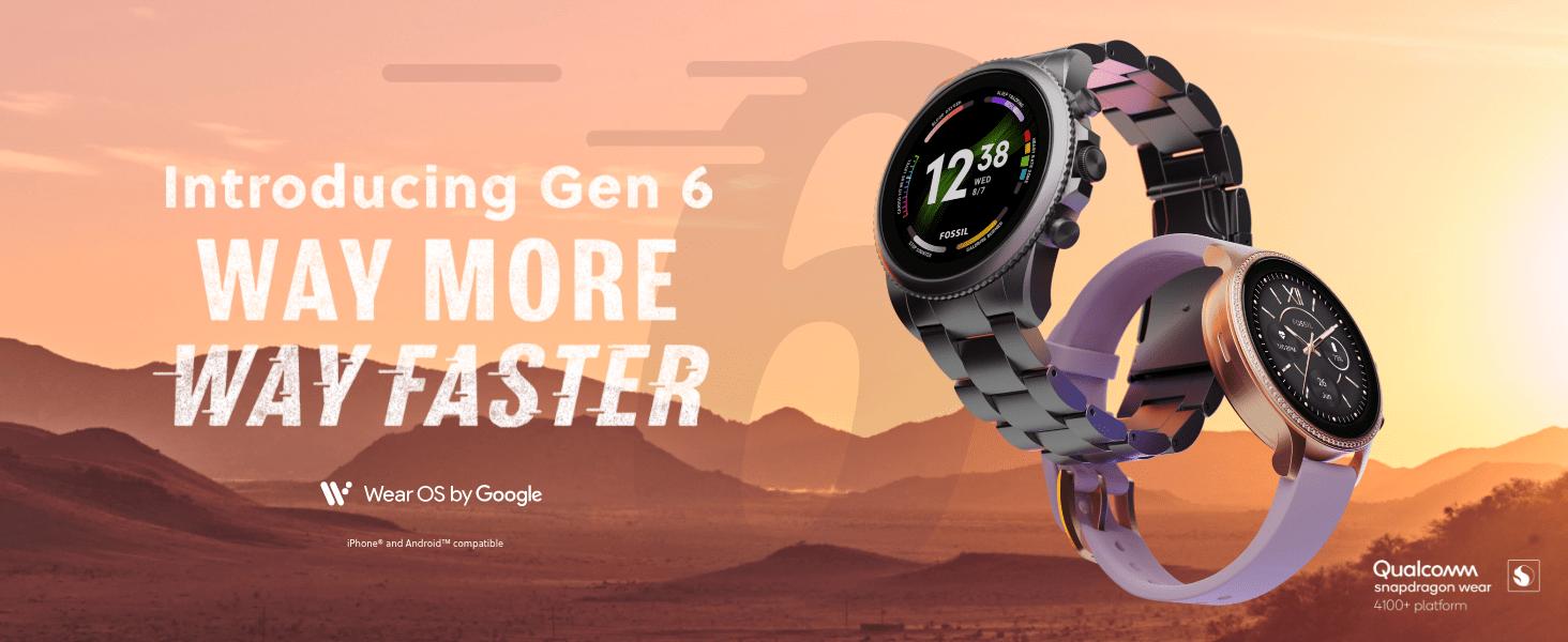 Introducing Fossil Gen 6 Smart Watch