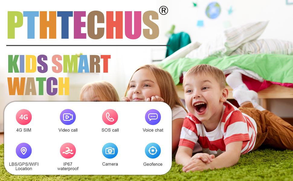 Kids Smartwatch phone gift for boys girls birthday wifi 4G net GPS trakcer Christmas gift