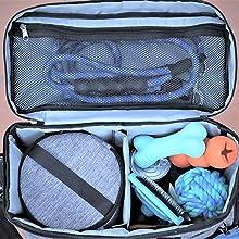 mobile dog travel bag