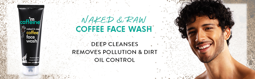 Naked & Raw Coffee Face Wash (Pack of 2)