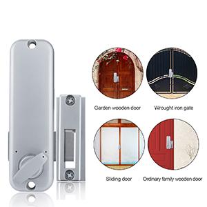 Keyless entry door lock with handle