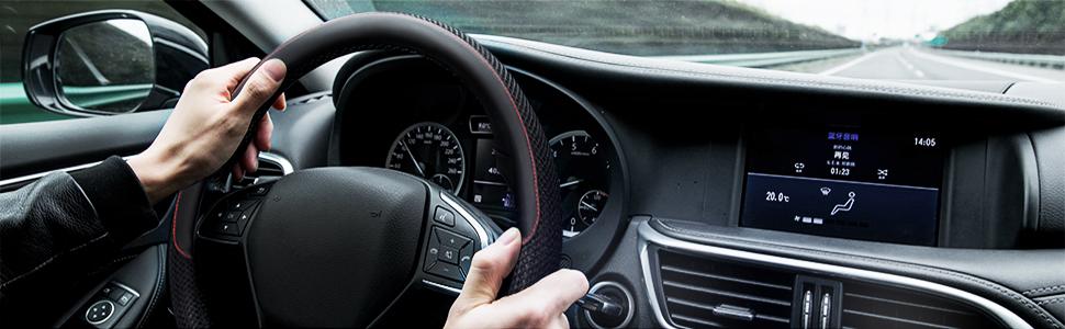 KAFEEK Steering Wheel Cover