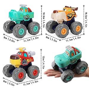 toys monster trucks dinosaurs