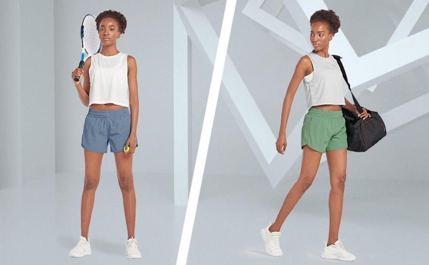 women running shorts with zipper pockets
