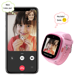 Kids Smart Watch Girl Smartwatch gift video call 4G Voice chat birthday gift pink watch band