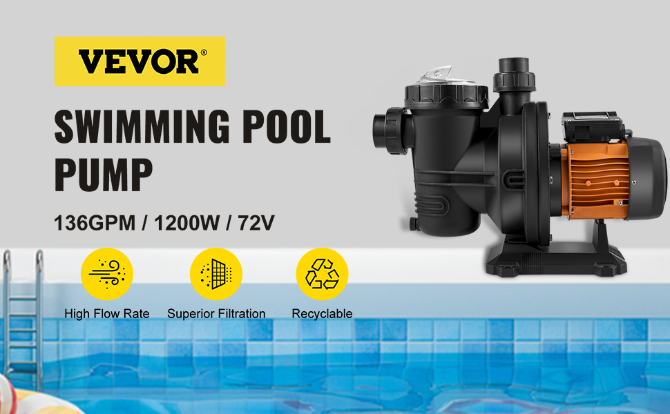 pool pump in ground