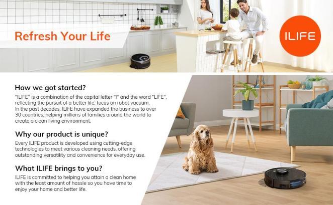 ILIFE Brand Introuduction
