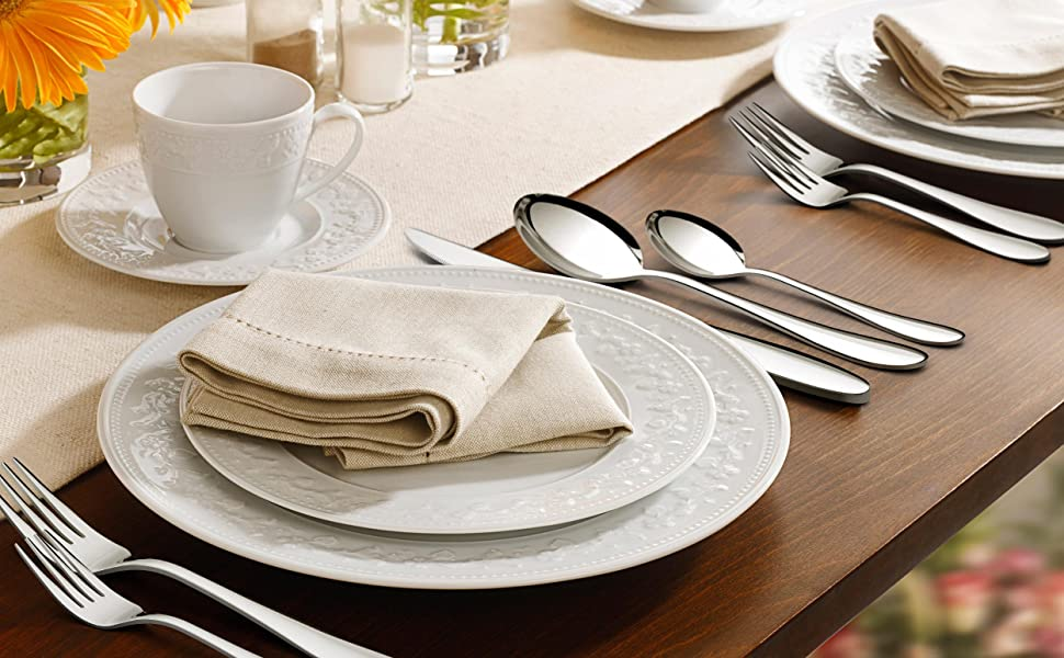 elegant silverware
