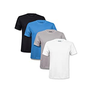 t shirts pack men soft premium classic tshirts multipack kingsted white grey blue black