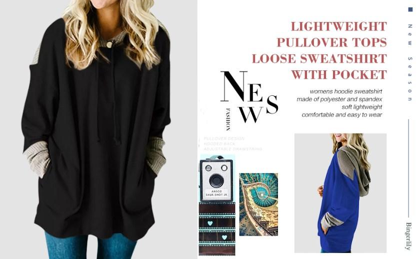 girls fashion hoodies & sweatshirts