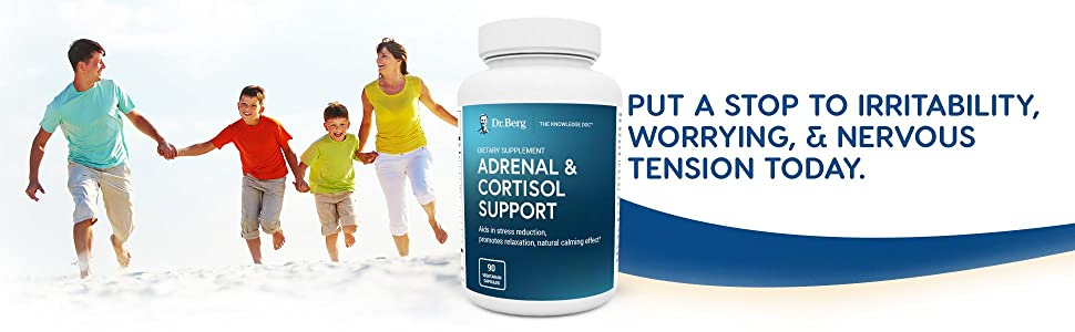 Dr. Bergs Adrenal Cortisol Support