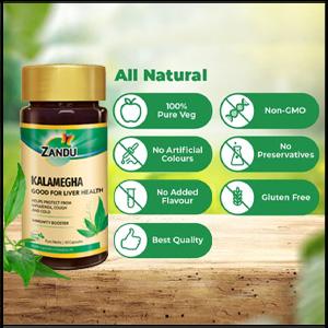 Zandu Pure Herbs Kalamegha: Improves Immunity