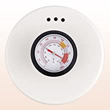 Built-in Thermometer