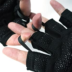 workout gloves easy to take off