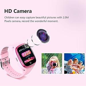 Kids Smart watch GPS  boys girls camera take a video photo birthday gift childrens christmas gift