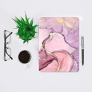 MVYNO macbook marble pink cover