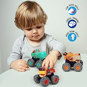 boys toys monster trucks