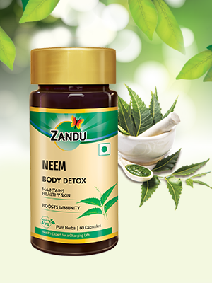 Neem has been known to have good skin protecting and maintaining properties.