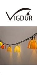 bedroom string lights