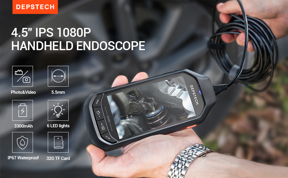 DEPSTECH 1080P Endoskop