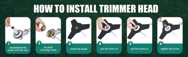 gas string trimmer