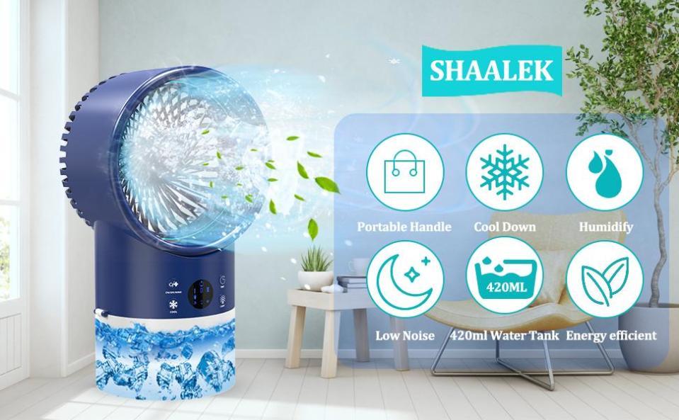 SHAALEK PORTABLE AIR CONDITIONER FAN