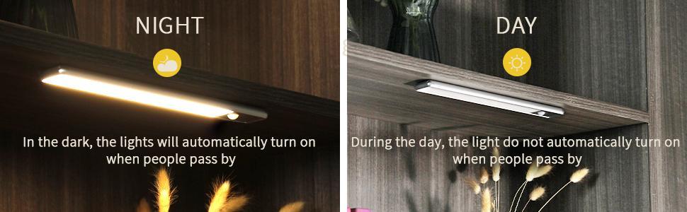 closet lights magnetic motion light lighting for under cabinets closet light