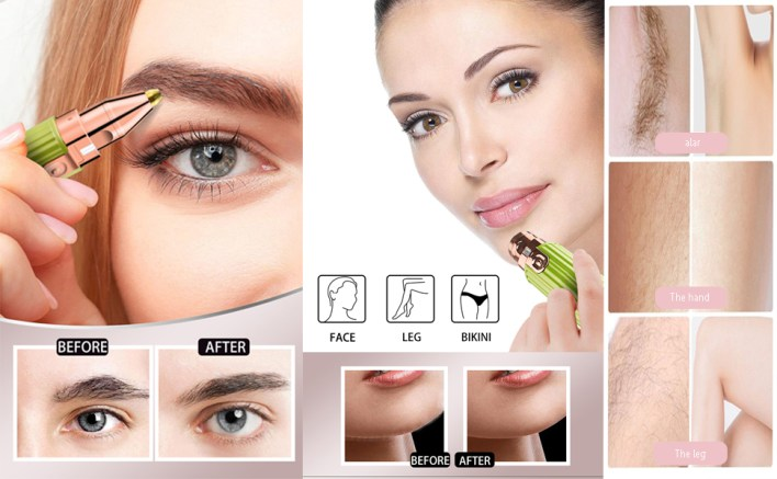 Hair Remover&Eyebrow Trimmer