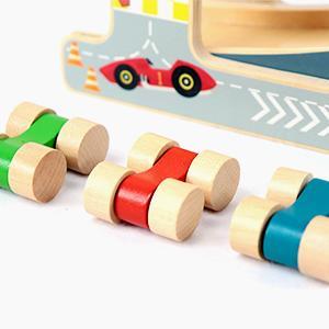 LEO & FRIENDS Wooden Ramp Racer