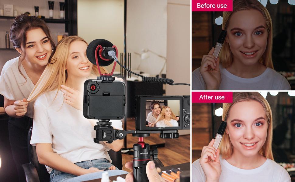 ulanzi ultra bright led video light