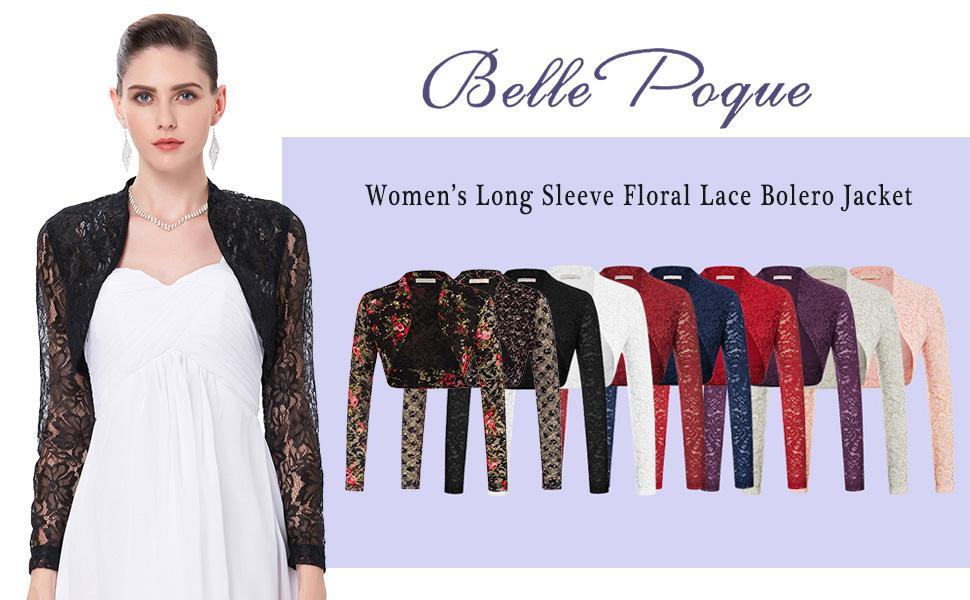 women shurg lace crop cardigan