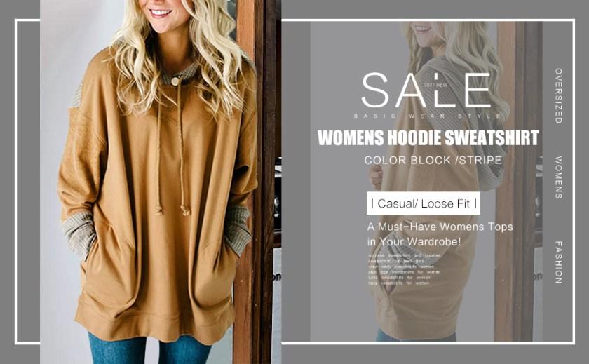 women's fashion hoodies & sweatshirts