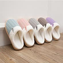 colorful house slippers