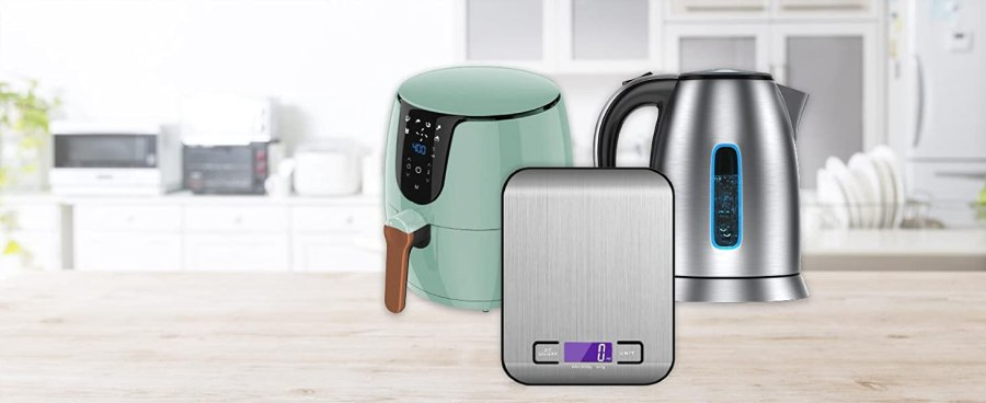 SOLARA Air Fryers, Kitchen Scales, Kettles