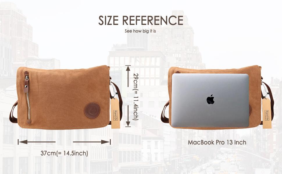 Unisex Casual High Quality Canvas Satchel Messenger Bag