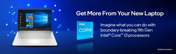 HP 14 (2021) Thin & Light 11th Gen Intel Core i3 get more from your laptop