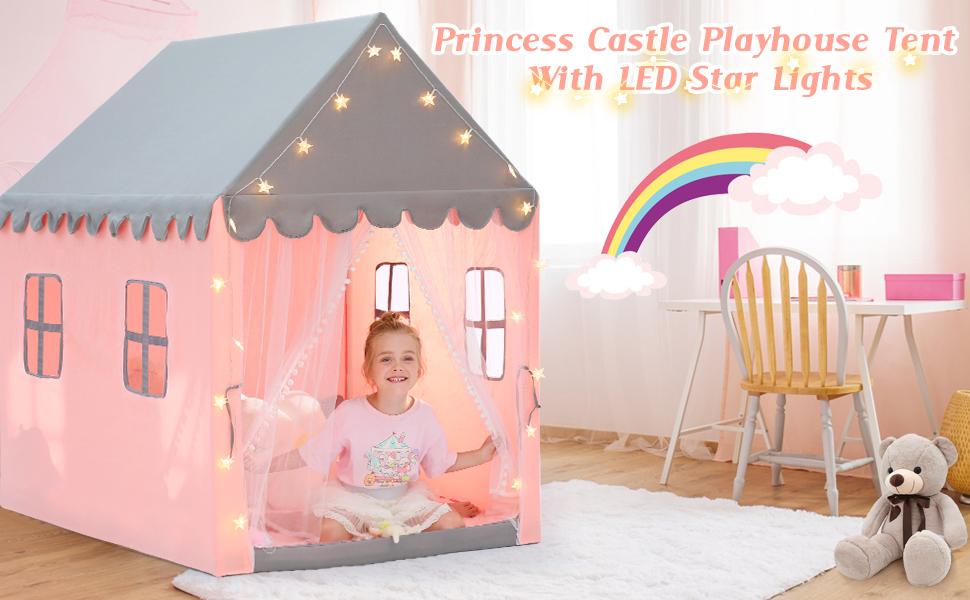 粉色帐篷1