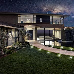 Outdoor in-ground Solar Lights
