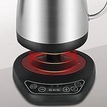 fast heating coffee kettle