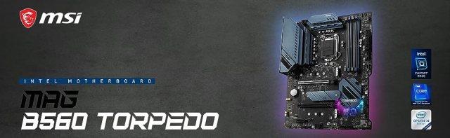 MAG B560 TORPEDO Banner