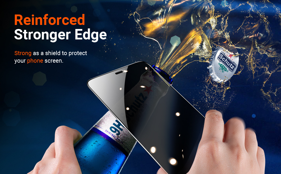 iphone 12 pro max screen protector shatterproof screen tempered glass
