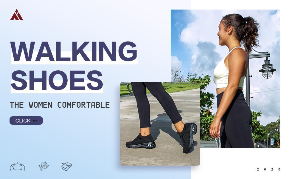 women walking shoes slip on sock sneakers mesh comfortable work shoes