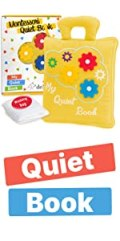 Montessori Quiet Book for Toddlers - Busy book