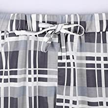 Mabecol Schlafanzug Damen Kurz Pyjama 7