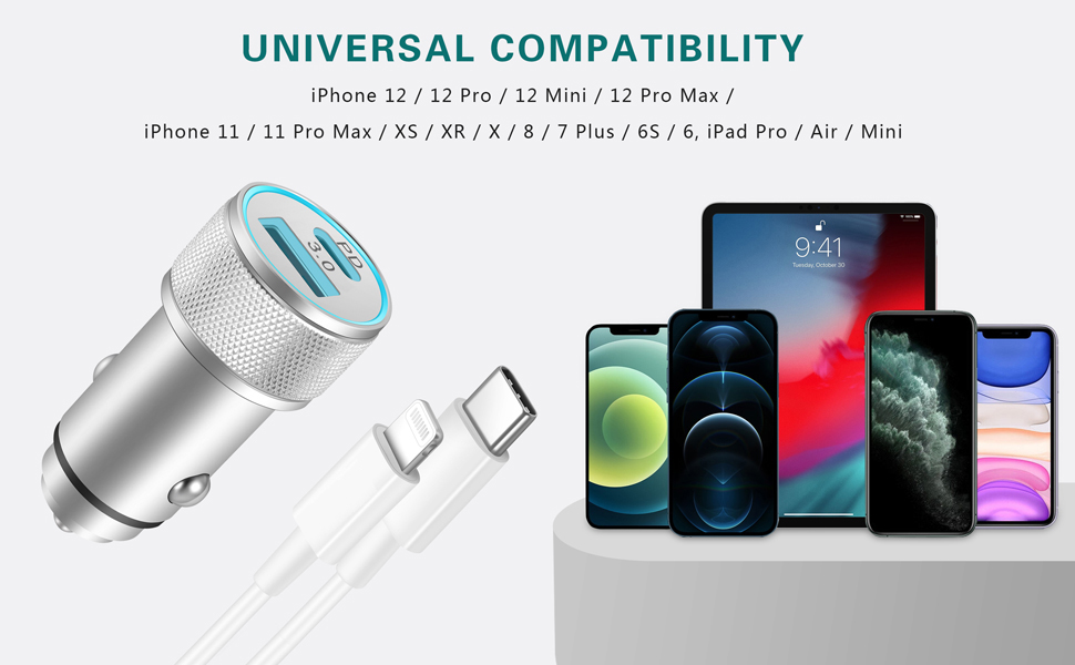 iphone fast car charger