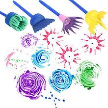 Facile da pennelli bambini tempereusare e facile da pulire!