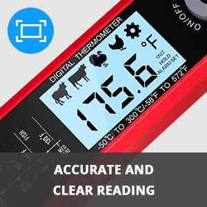 Adjustable Super Bright Backlit LCD Screen