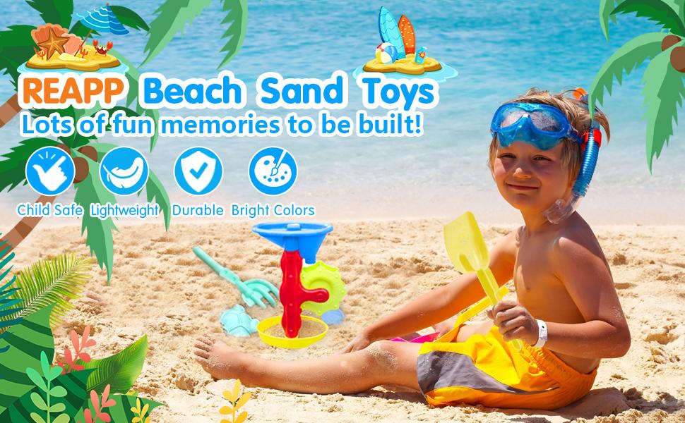 REAPP Beach Sand Toys