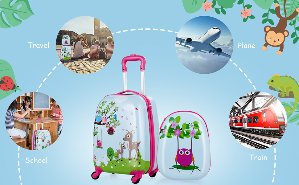 luggage for little girls